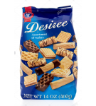 GALLETAS SURTIDA C/CHOC.DESIREE BOLSA 400 GR.