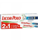 DENTIFRICO LICOR POLO ACCIÓN-3  75 ML P/2X1