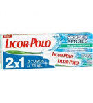 DENTIFRICO LICOR POLO FROZEN SENSES 75 ML P/2X1