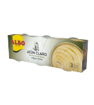 ATUN ALBO CLARO A/OLIVA 92 GR PACK-3 UD (BARCA)