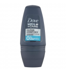 DESODORANTE DOVE MEN 0%CLEAN COMFORT ROLLON 50 ML