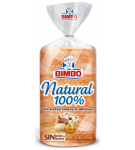 PAN BIMBO NATURAL 100% 460.GR.