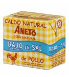 CALDO ANETO 100% NATURAL POLLO BAJO EN SAL B/500ML