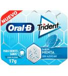 CHICLE TRIDENT ORAL-B GRAGEA PEPPERMINT 17GR