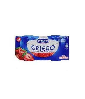 DANONE GRIEGO CON FRESAS PACK-2 ud