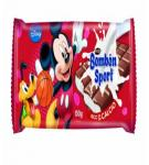 CHOCOLATE disney BOMBON SPORT TABLETA 125GR