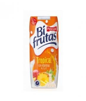 BIFRUTAS TROPICAL PASCUAL BRICK 330 ML