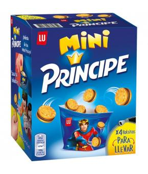 GALLETAS PRINCIPE MINI 4 X40 GR 160 GR