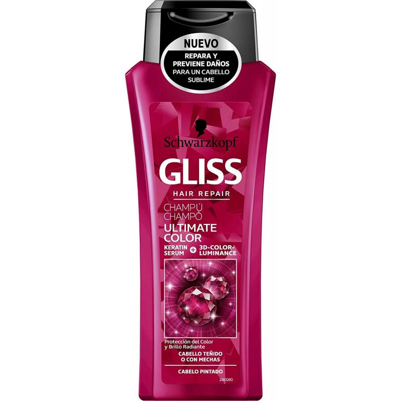 CHAMPU GLISS REPARACION TOTAL 250 ML