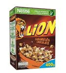 CEREAL NESTLE LION CARAMELO & CHOCOLATE P/410 GR