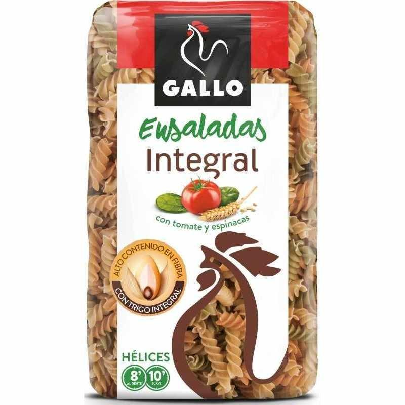 HELICES GALLO C/VEGETALES INTEGRAL 400GR + ATUN