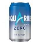 AQUARIUS ZERO AZUCAR LIMON LATA 33 CL