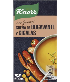 CREMA KNORR BOGAVANTE Y CIGALA B/500 ML