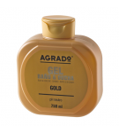GEL BAÑO AGRADO GOLD B/750 ML.