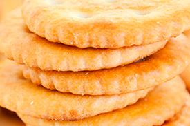 Galletas saladas, crackers...