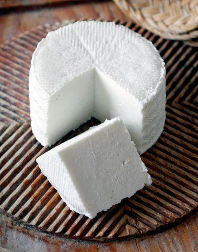 Queso fresco, blanco
