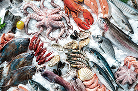 Sección pescadería